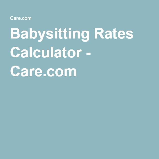 Babysitting Resume image titled write a resume for babysitting step 8 Babysitting Rates Calculator Carecom