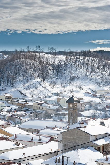 This is my Greece | Flampouro village in the central part of Florina regional unit, northern Greece