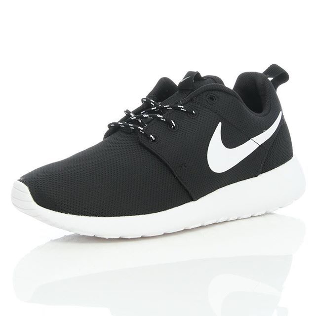 womens nike blue roshe one winter trainers club
