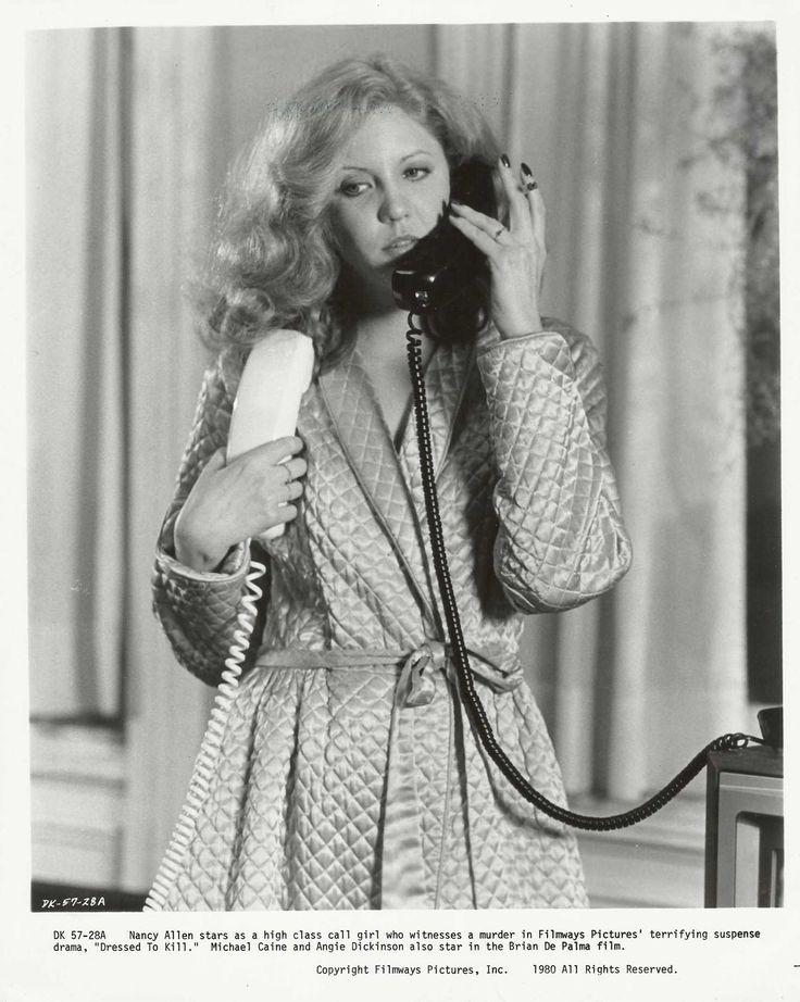 "laurapalmerwalkswithme: Nancy Allen in ""Dressed to Kill"", 1980"
