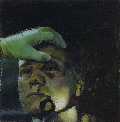 'Specialist', 2011, oil on canvas, 30 x 30 cm