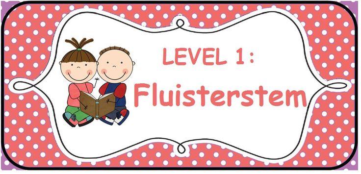 Stemvolume: level 1 fluisterstem - Sarah Verhoeven -