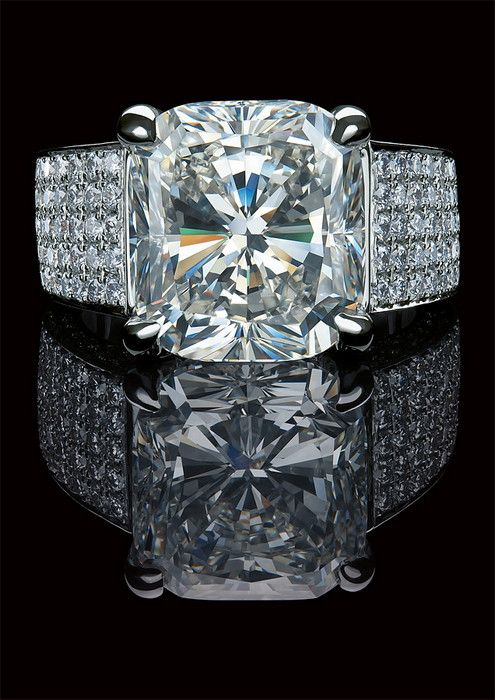 17 images about diamond engagement rings on pinterest for Gaudy mens wedding rings