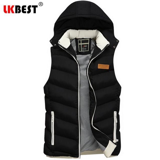 Special price LKBEST men's Waistcoat 2017 Brand New Men vest Fashion Outerwear Leisure Casual Men Winter Coat Warm Sleeveless Jacket (MJ03) just only $27.30 with free shipping worldwide  #jacketscoatsformen Plese click on picture to see our special price for you