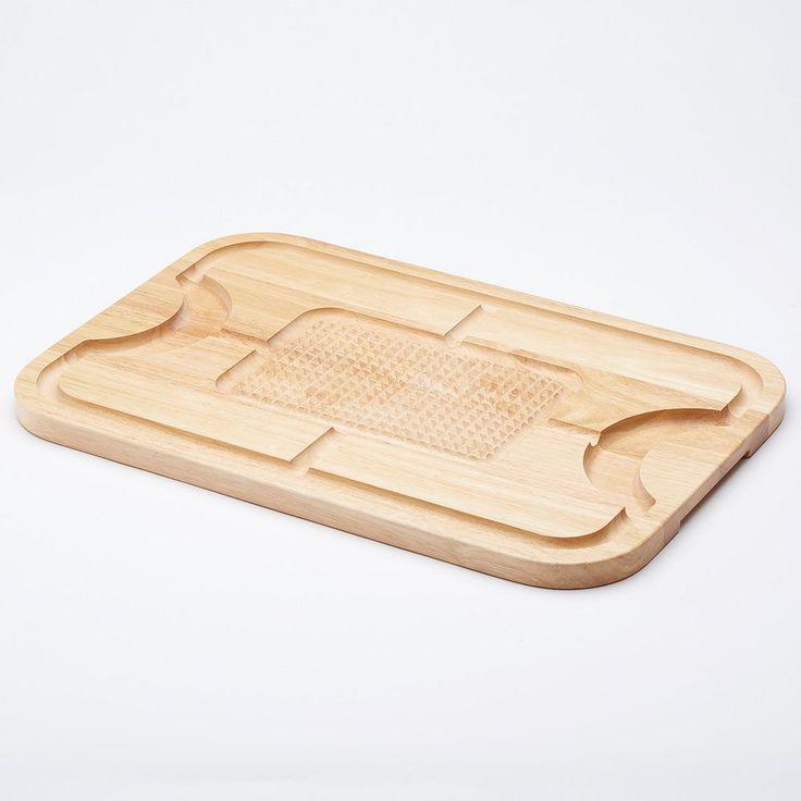 Food Network™ Wood Carving Board, Brown