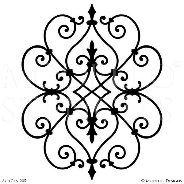 21 Best Formal Area Images On Pinterest Custom Stencils