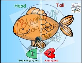 Phonology, ICD, FCD, Apraxia Phono-Fish Mats by Blooming Speech Works