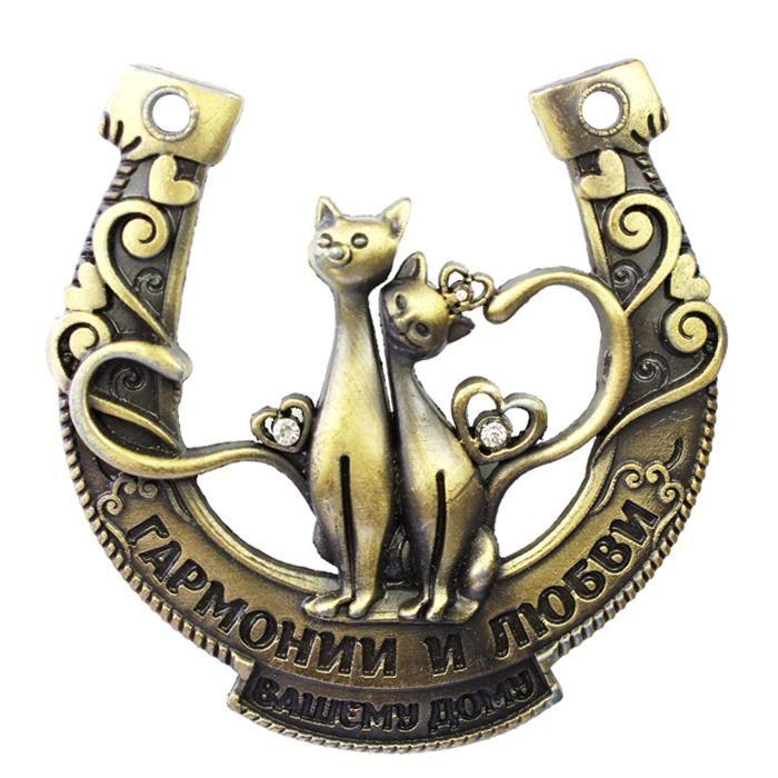 Cheap Design esclusivo imballaggio, russo ferri di cavallo, artistico cheapest mestiere del metallo, antico regalo di san valentino, rainstone gatto su hotsale, Compro Qualità Metallo artigianato direttamente da fornitori della Cina:                                              &nb