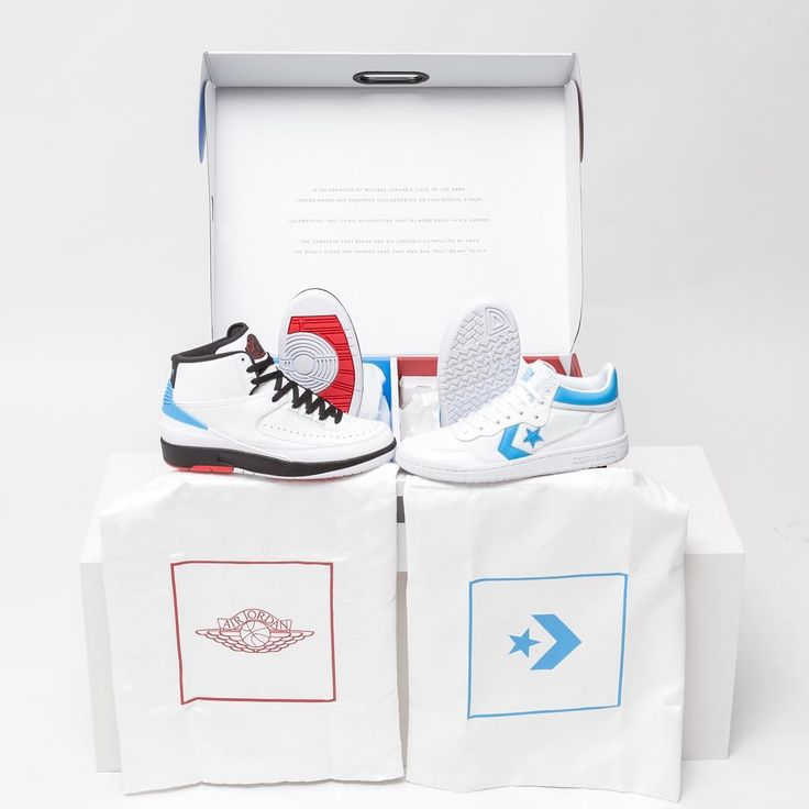 "709 mentions J'aime, 2 commentaires - Titolo Sneaker Boutique (@titoloshop) sur Instagram : ""RELEASE ▫️🔹Converse x Jordan Pack ""THE 2 THAT STARTED IT ALL""  Wednesday, 28th June online 9AM CET,…"""