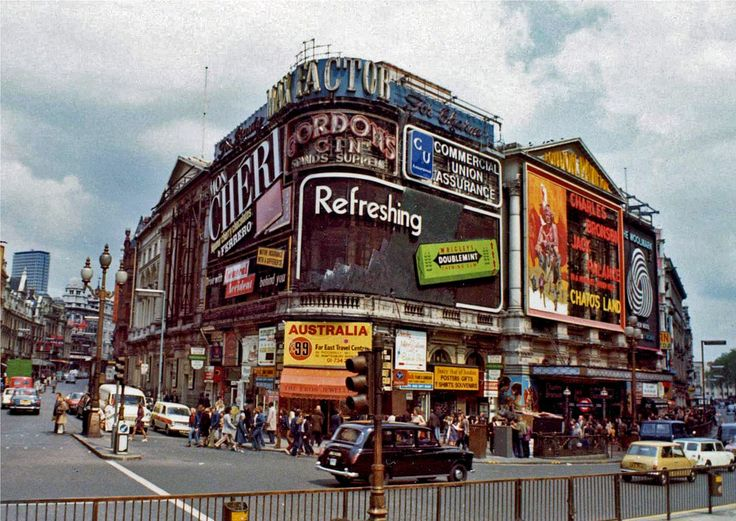 Trocadero, SOHO, LONDON, 1973.