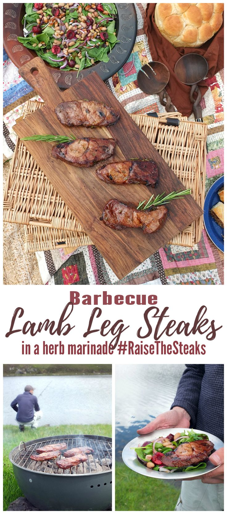 You're only five minutes' prep away from a delicious BBQ recipe with these lamb steaks!