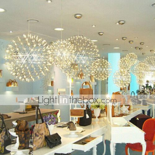 220v 20 20cm 5 10 Contracted And Contemporary Chandelier Creative Round Droplight Lamp Led Light