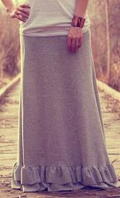 Elle Apparel: maxi skirt tutorial