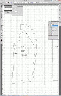 Using Adobe Illustrator for flat pattern drafting | Tien Chiu