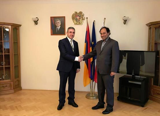 Meeting with the #Armenian Ambassador to #Poland. Discussions were extremely fruitful & we are going to Yerevan in May 2017.  https://www.bgconsultancy.eu/news.html