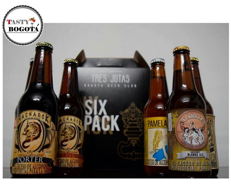 Cerveza artesanal  Tres jotas