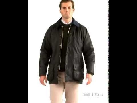 Mens Barbour Beaufort Waxed Jacket - A true all-season companion