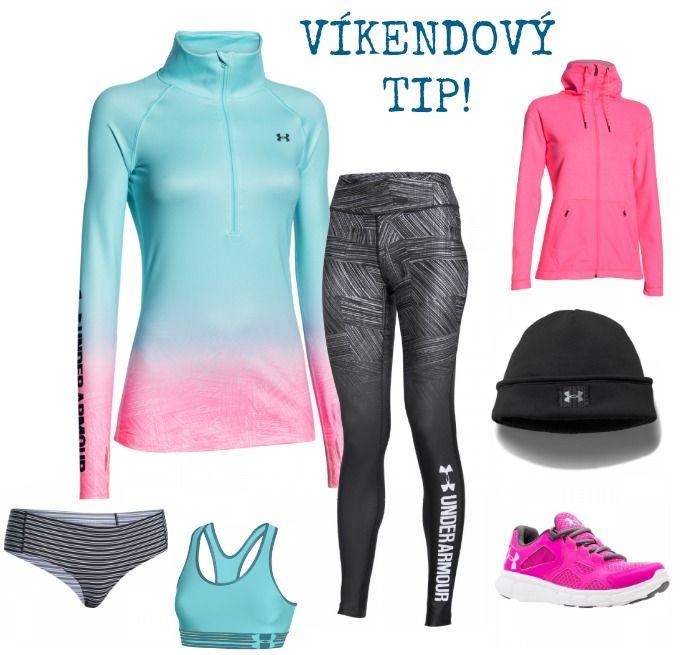 Víkendový tip - barvitý sportovní outfit Under Armour