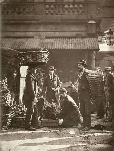 Covent Garden Labourers    From 'Street Life in London', 1877, by John Thomson and Adolphe Smith.