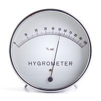 Гигометр для измерения влажности воздуха дома. Или незамороченную метеостанцию с градусником (можно выносным) и измерением влажности.