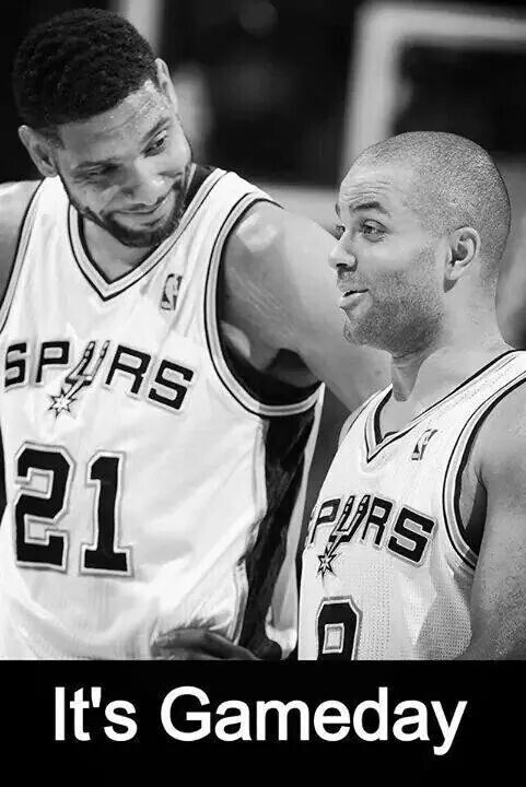 SPURS GAME DAY
