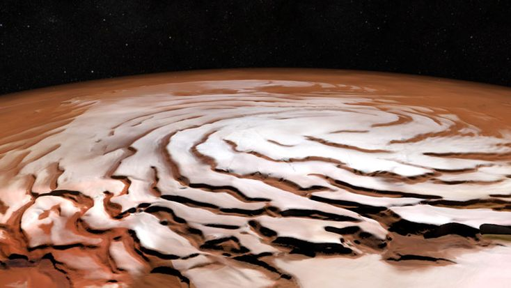 New Mosaic Shows Off the Red Planet's North Polar Ice Cap  ESA's Mars Express provides a new mosaic of Mars. A new mosaic from ESA's Mars Express shows off the Red Planet's north polar ice cap...   The post  New Mosaic Shows Off the Red Planet's North Polar Ice Cap  appeared first on  SciTech Daily .  http://scitechdaily.com/new-mosaic-shows-off-the-red-planets-north-polar-ice-cap/