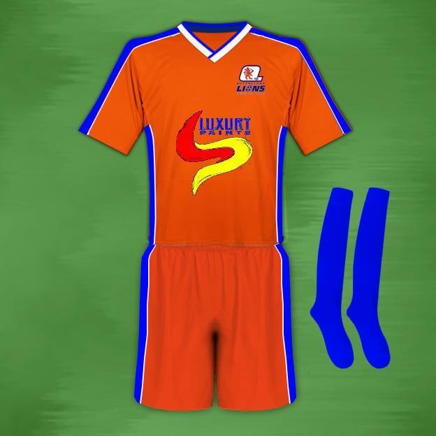 Brisbane Lions F.C. [Hollandia] a later strip.