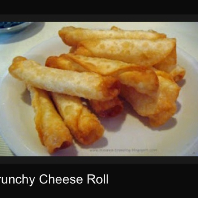 Misawa, Japan Cheese Roll ramen house. These are the yummy cheese rolls