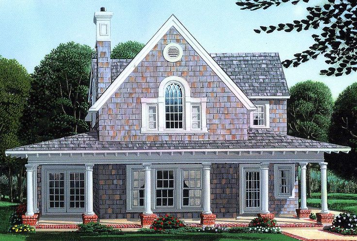 Plan 1960gt Primary Residence Or Vacation Cottage Porch