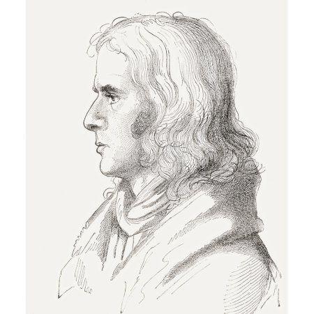 Adelbert Von Chamisso 1781 Canvas Art - Ken Welsh Design Pics (13 x 15)