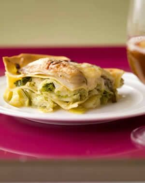2 vegetarische lasagne's - vegetarische recepten zoeken