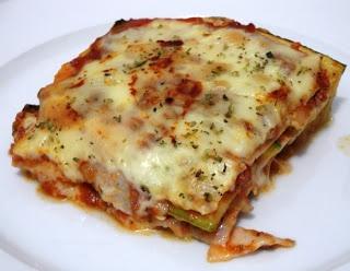 Zucchini Lasagna Dukan