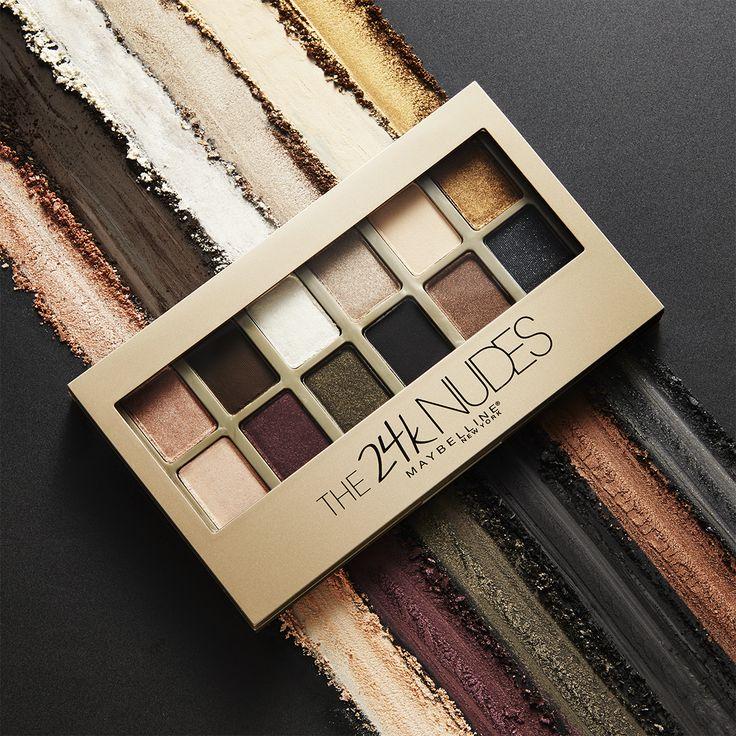 Maybelline 24K Nudes Palette  BEST drugstore eyeshadow palette