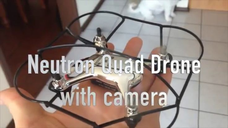 awesome PROPEL NEUTRON 2.4GHZ R/C QUAD DRONE with Camera REVIEW