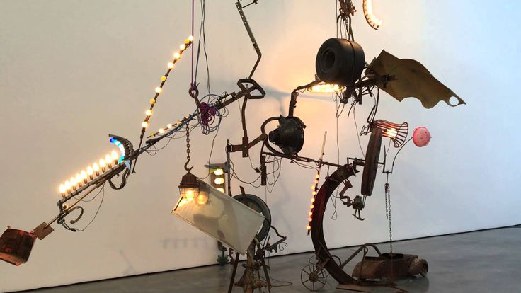<p>Today+is+the+occasion+to+bear+in+mind+Jean+Tinguely+(22/5/1925-30/8/1991).+He+is+best+known+for+his+machinelike+kinetic+sculptures+that+destroyed+themselves+in+the+course+of+their+operation,+or+Kinetic+art,+in+the+Dada+tradition,+known+officially+as+metamechanics.+Tinguely's+art+satirized+the+mindless+overproduction+of+material+goods+in+…</p>
