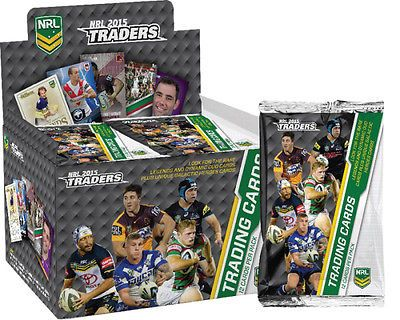 Rugby League NRL Cards 25583: Nrl 2015 Rugby League - Traders Trading Cards ~ Sealed Box (36Ct) #New -> BUY IT NOW ONLY: $59.99 on eBay!