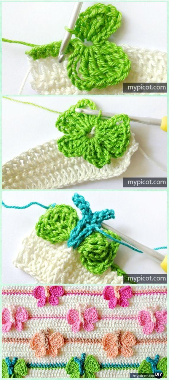 Crochet Butterfly Stitch Free Pattern [Video]