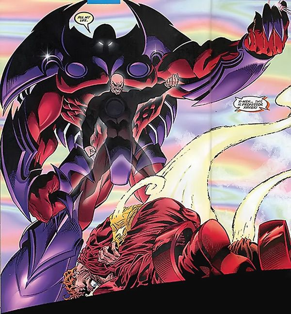 Professor Xavier,Magneto, the making of Onslaught ¤° Marvel | Onslaught - Marvel Comics