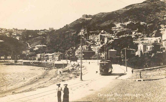 Oriental Bay, Wellington, N.Z.. 1910
