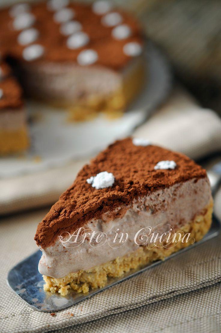 Crostata fredda di biscotti al tiramisu vickyart arte in cucina