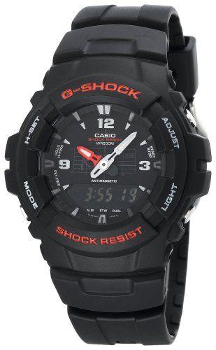 Casio Men's G100-1BV G-Shock Classic Ana-Digi Watch
