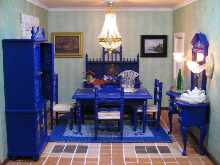 Casa popular Andaluza comedor