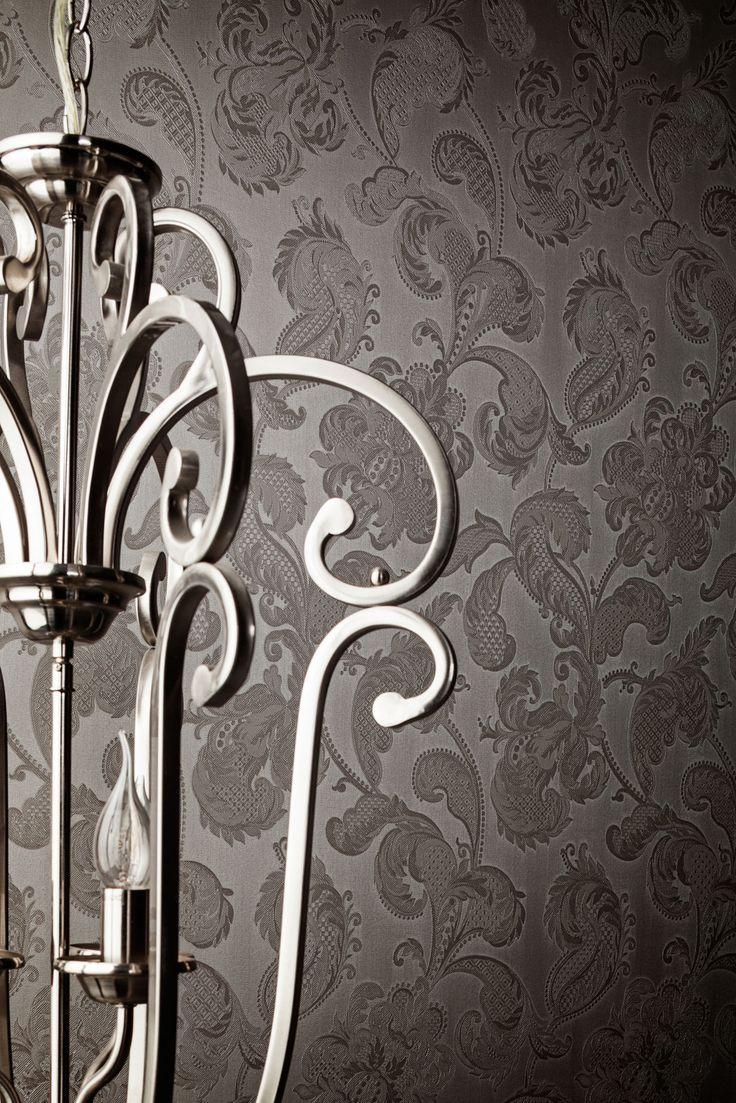 Wallpaper Treasures Grey / Behang Treasures Grijs - BN Wallcoverings