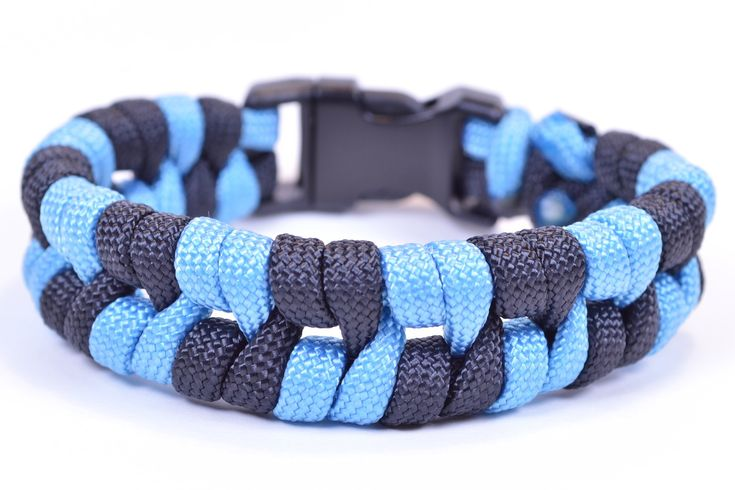 """Paracord Bracelet """"Barbed Wire"""" Design - How To Video - BoredParacord"""