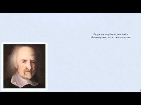 Hobbes Vs Locke Differenze Tra E Video In Inglese Visual Venn