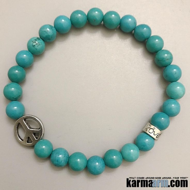 ♛  Turquoise is a #gemstone that provides #protection, grounding, strength, #courage, love and luck and a token of #friendship. Many #indian #tribes associate #turquoise with #fertility. #Peace #Sign  #BEADED #Yoga #BRACELETS #Chakra #gifts #Macrame #Stretch #Womens #jewelry #Tony #Robbins #Eckhart #Tolle #Crystals #Energy #gifts #Handmade #Healing #Kundalini #Law #Attraction #LOA #Love #Mala #Meditation #prayer #Reiki #mindfulness #wisdom #Fashion #birthday #Spiritual