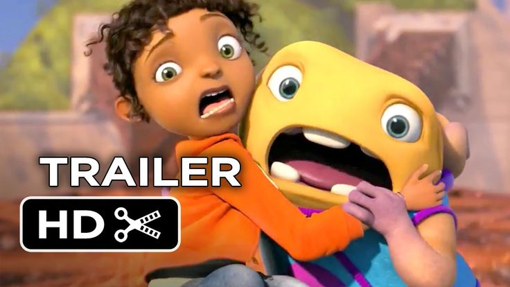 New 'Home' Animated Trailer about a cute alien voiced by Jim Parsons (The Big Bang Theory).