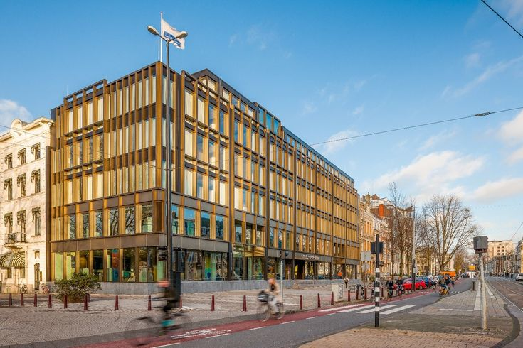 The Nederlandsche Bank, Amsterdam. By Inbo #renovation #facade #officebuilding