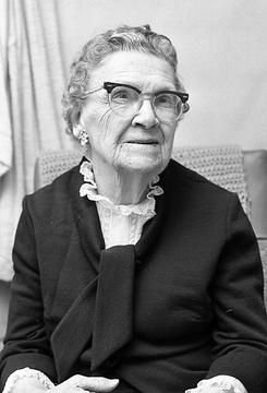 Mrs. E.W. Nutt is pictured on her birthday on July 17, 1974. Each day, the Marshall News Messenger publishes a photo from our files that is at least 30 years old.