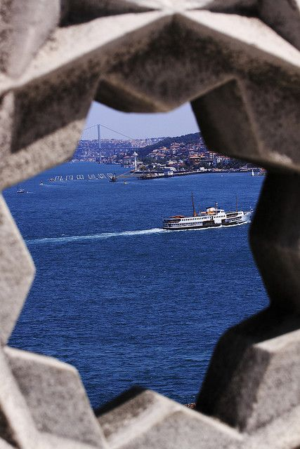 Istanbul - Bosphorus, Turkey  by Davide Germano